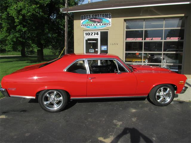 1972 Chevrolet Nova SS (CC-1297647) for sale in Goodrich, Michigan