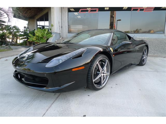 2011 Ferrari 458 (CC-1297654) for sale in Anaheim, California