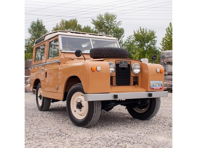 1963 Land Rover Series IIA (CC-1297736) for sale in St. Louis, Missouri
