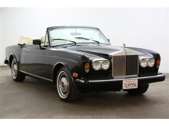 1985 Rolls-Royce Corniche (CC-1297743) for sale in Beverly Hills, California