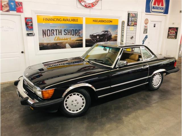 1987 Mercedes-Benz 560SL (CC-1297756) for sale in Mundelein, Illinois