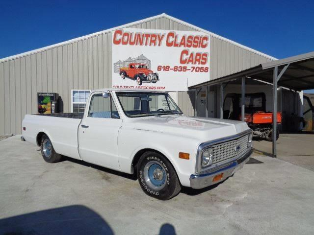 1971 Chevrolet C/K 10 (CC-1297762) for sale in Staunton, Illinois