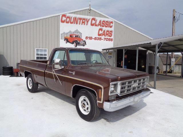 1977 Chevrolet C/K 20 (CC-1297763) for sale in Staunton, Illinois