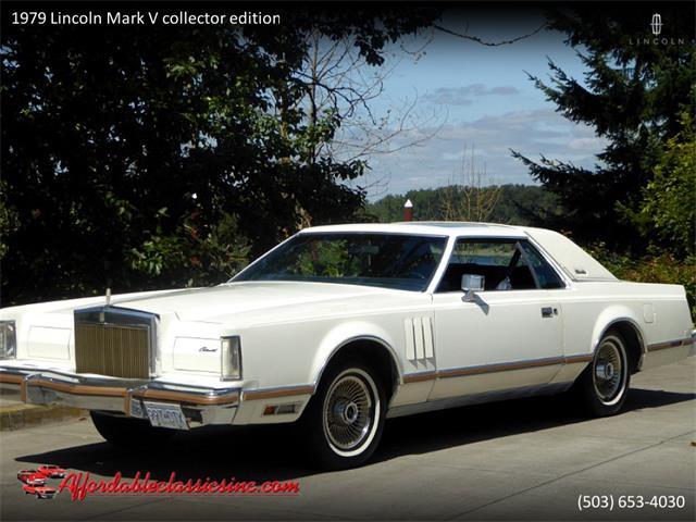 1979 Lincoln Mark V (CC-1297791) for sale in Gladstone, Oregon