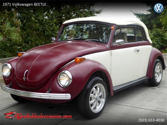 1971 Volkswagen Beetle (CC-1297803) for sale in Gladstone, Oregon