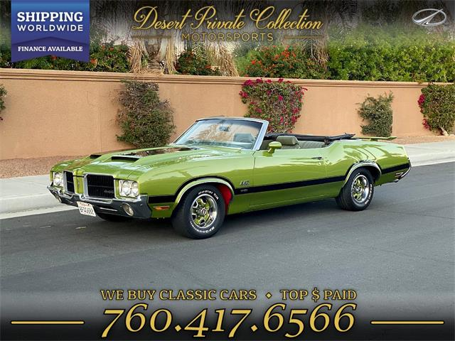 1971 Oldsmobile 442 (CC-1297835) for sale in Palm Desert , California