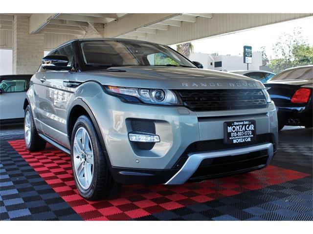 2012 Land Rover Range Rover Evoque (CC-1297848) for sale in Sherman Oaks, California