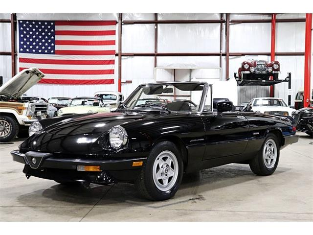 1987 Alfa Romeo Spider (CC-1297945) for sale in Kentwood, Michigan