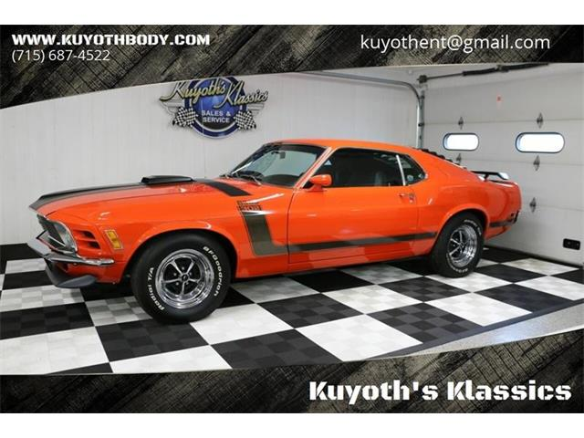1970 Ford Mustang Boss 302 (CC-1298034) for sale in Stratford, Wisconsin