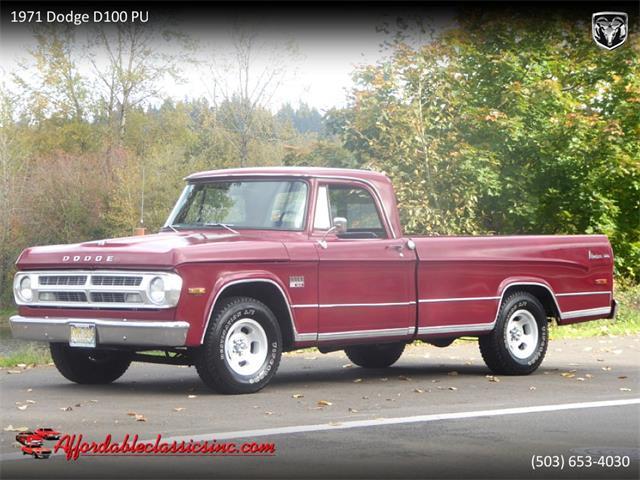 1971 Dodge D100 (CC-1298047) for sale in Gladstone, Oregon