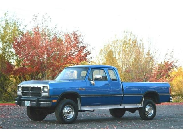 1993 Dodge Ram (CC-1298371) for sale in Cadillac, Michigan