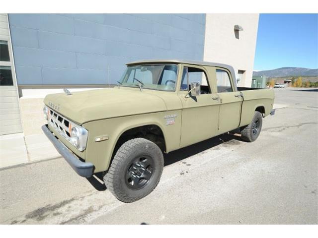 1970 Dodge Power Wagon (CC-1298382) for sale in Cadillac, Michigan
