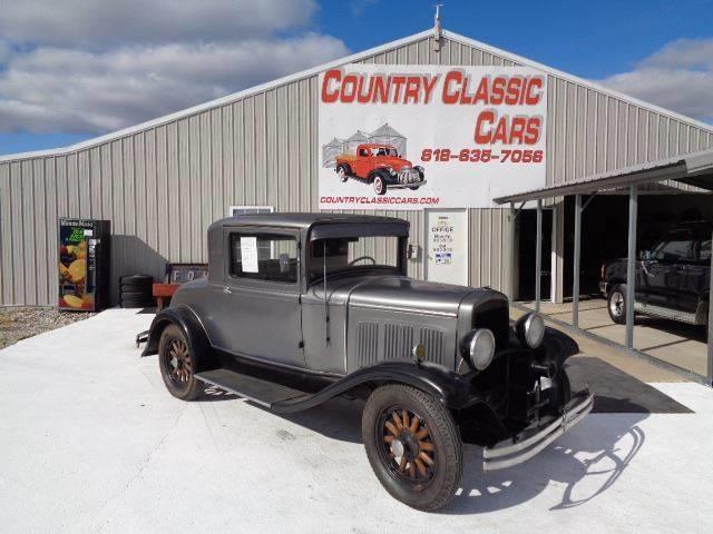 1929 DeSoto 2-Dr Coupe (CC-1298466) for sale in Staunton, Illinois
