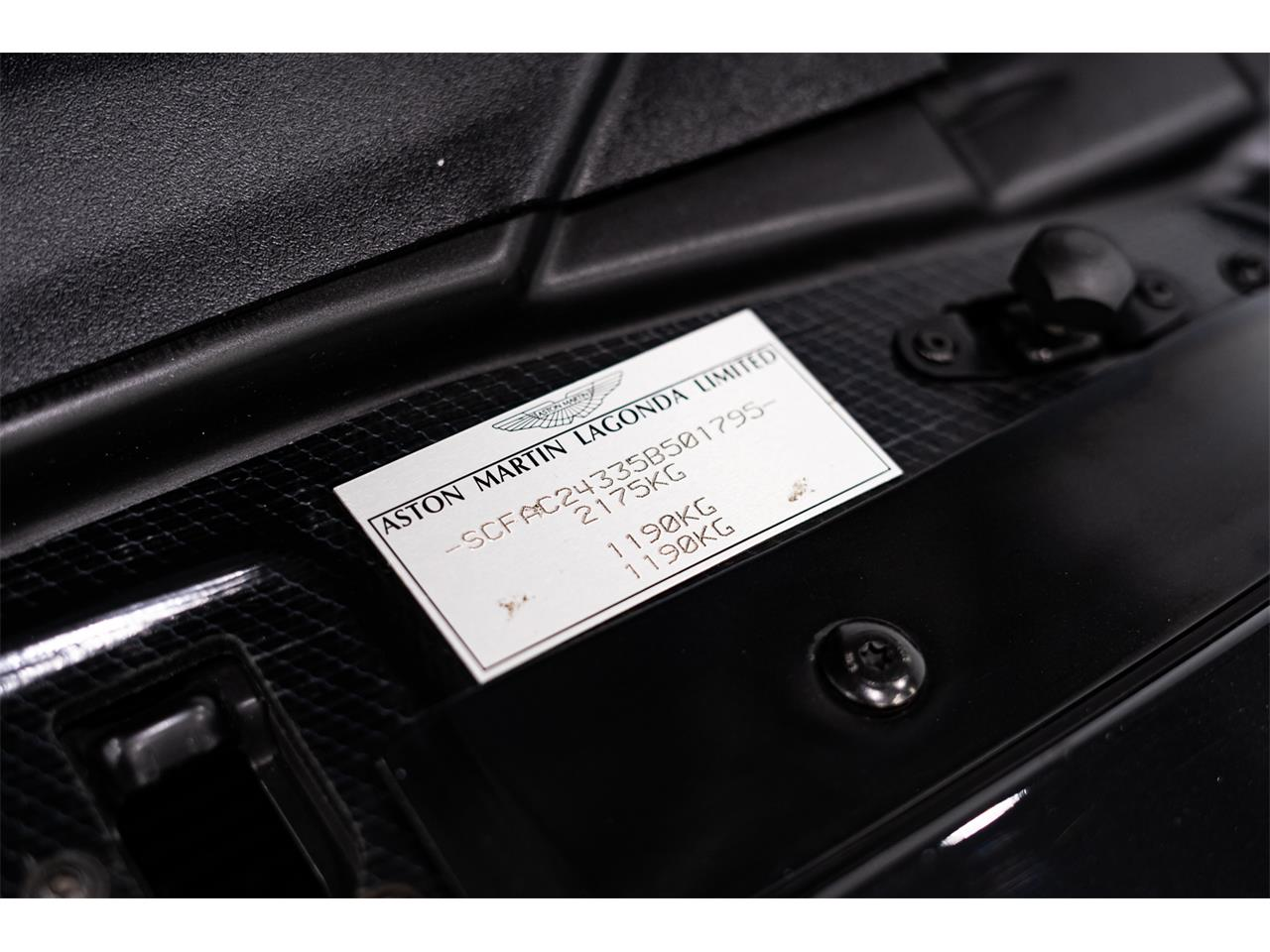 2005 Aston Martin Vanquish (CC-1298999) for sale in Montreal, Quebec