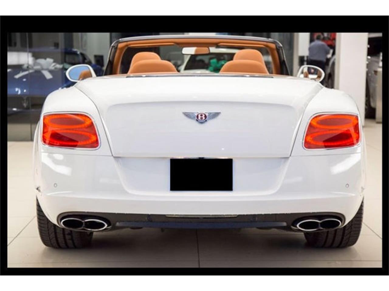2013 Bentley Continental GTC (CC-1299173) for sale in La Jolla, California