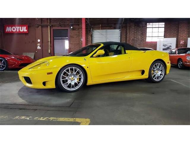 2004 Ferrari 360 Spider (CC-1299205) for sale in Charlotte, North Carolina