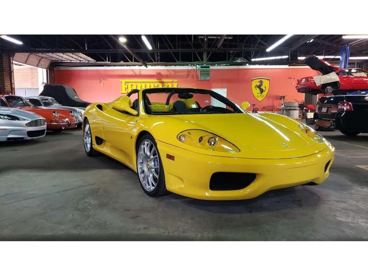 2004 Ferrari 360 Spider (CC-1299205) for sale in Charlotte, North Carolina