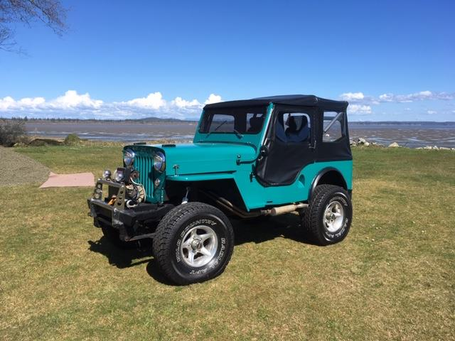 1954 Willys Jeep (CC-1299302) for sale in Hoquiam, Washington