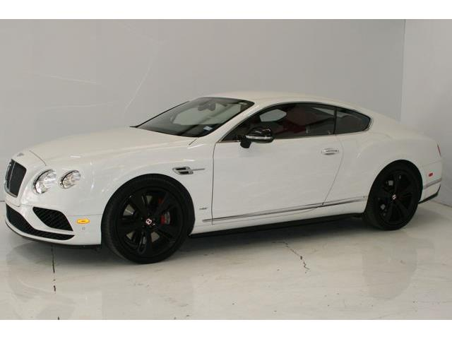 2016 Bentley Continental (CC-1299622) for sale in Houston, Texas