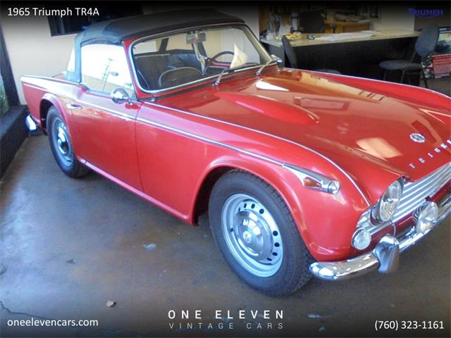 1965 Triumph TR4 (CC-1299826) for sale in Palm Springs, California