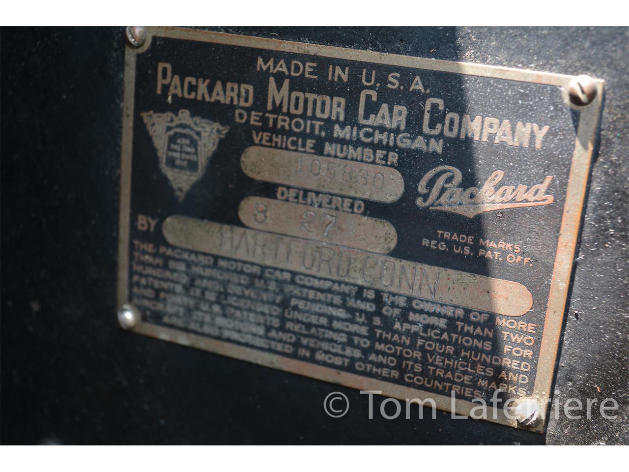 1927 Packard 4-26 Sedan (CC-1299858) for sale in Smithfield, Rhode Island
