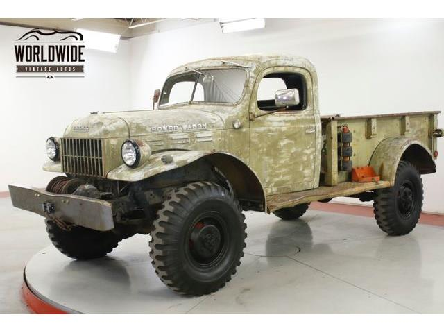 1946 Dodge Power Wagon (CC-1299925) for sale in Denver , Colorado