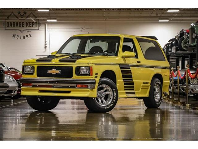 1987 Chevrolet Blazer (CC-1299952) for sale in Grand Rapids, Michigan