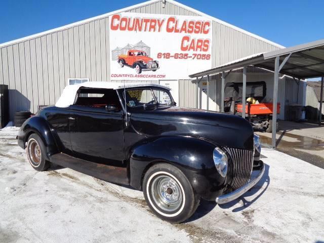 1939 Ford Convertible (CC-1299967) for sale in Staunton, Illinois