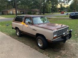 1983 Dodge Ramcharger (CC-1300001) for sale in Cadillac, Michigan