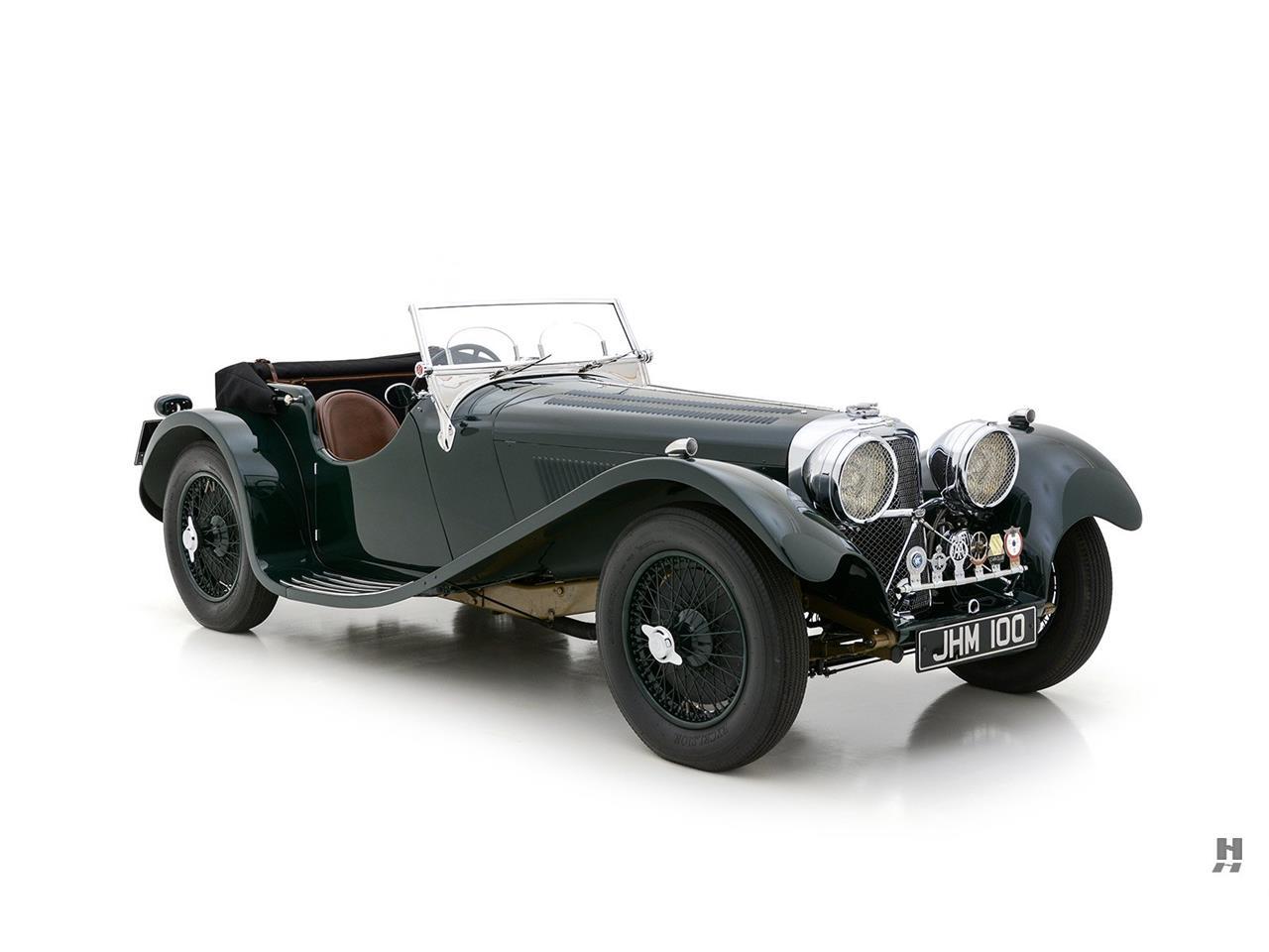1937 Jaguar SS100 (CC-1301042) for sale in Saint Louis, Missouri