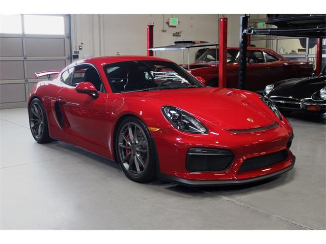2016 Porsche Cayman (CC-1301065) for sale in San Carlos, California