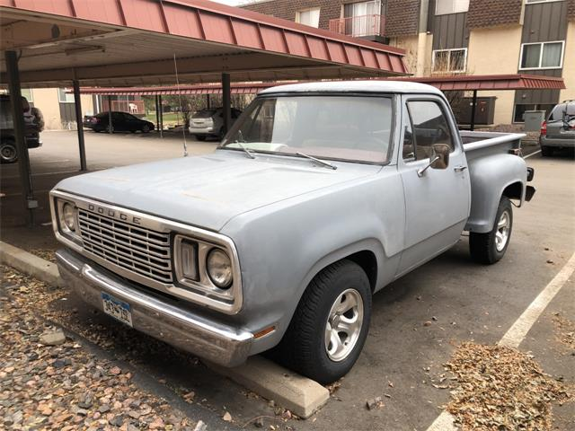 1978 Dodge D150 (CC-1301118) for sale in Denver, Colorado