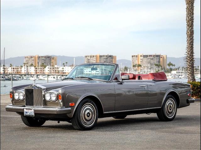 1987 Rolls-Royce Corniche II (CC-1301306) for sale in Marina Del Rey, California