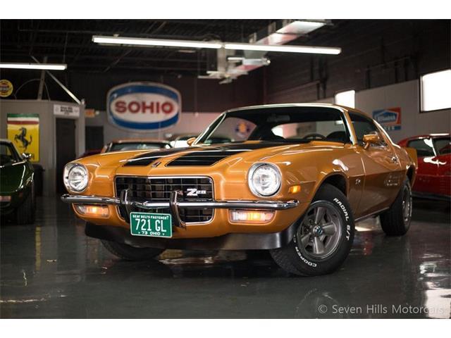 1973 Chevrolet Camaro (CC-1301368) for sale in Cincinnati, Ohio