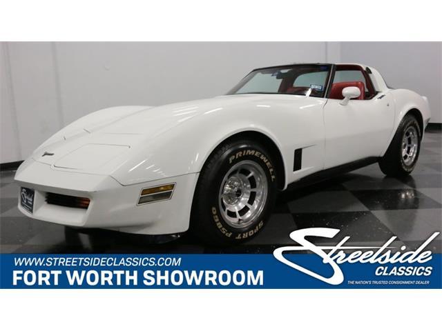 1981 Chevrolet Corvette (CC-1301514) for sale in Ft Worth, Texas
