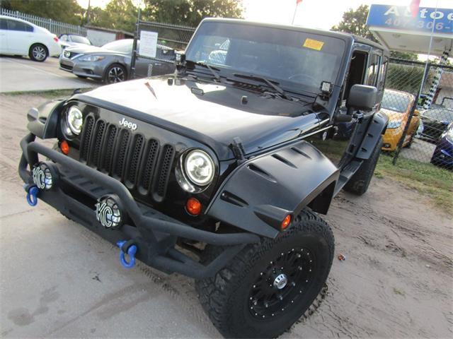 2012 Jeep Wrangler (CC-1301612) for sale in Orlando, Florida
