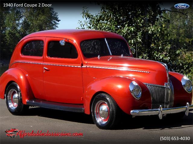 1940 Ford Coupe (CC-1301702) for sale in Gladstone, Oregon