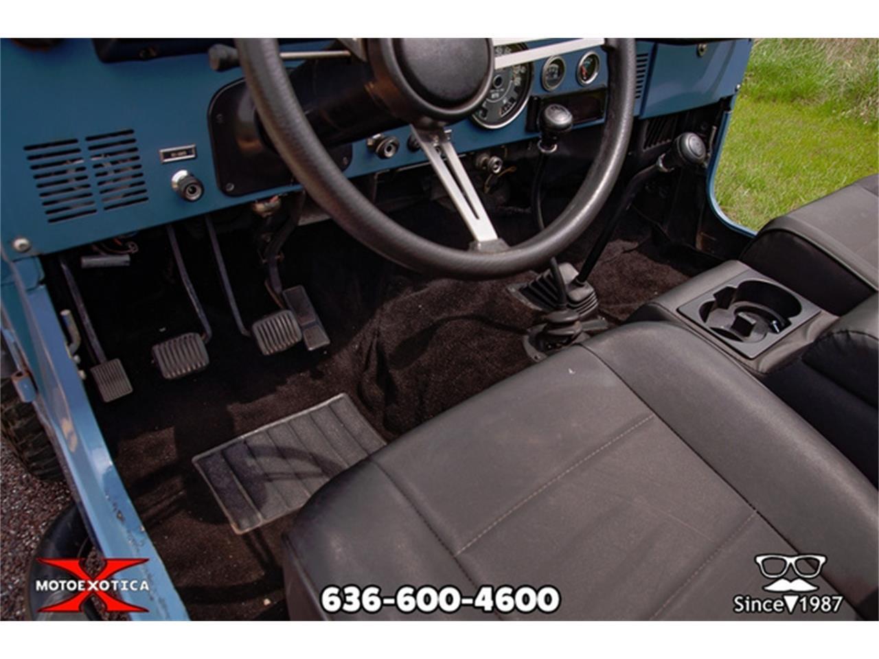 1981 Jeep CJ7 (CC-1301796) for sale in St. Louis, Missouri