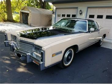 1978 Cadillac Eldorado (CC-1301865) for sale in Cadillac, Michigan