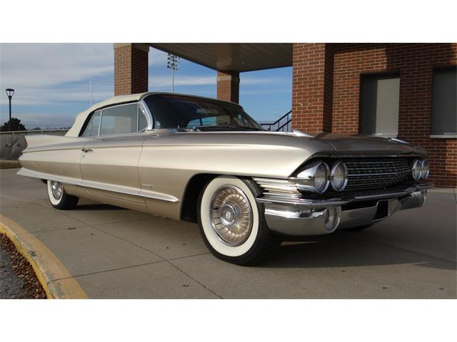 1961 Cadillac 2-Dr Convertible (CC-1301912) for sale in Davenport, Iowa