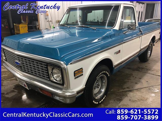 1972 Chevrolet C10 (CC-1302117) for sale in Paris , Kentucky