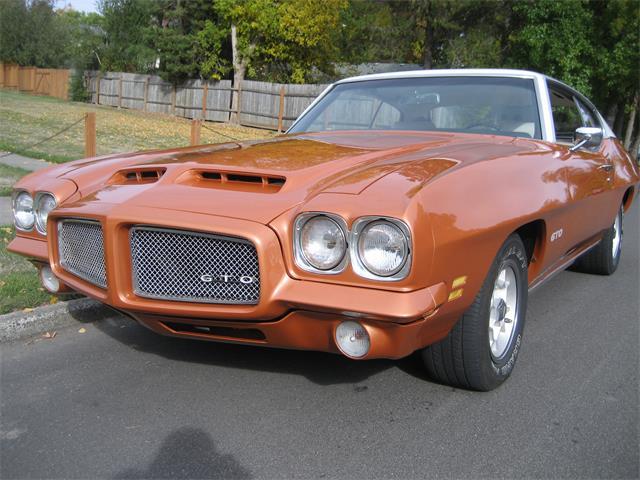 1971 Pontiac GTO (CC-1302139) for sale in Beaverton, Oregon
