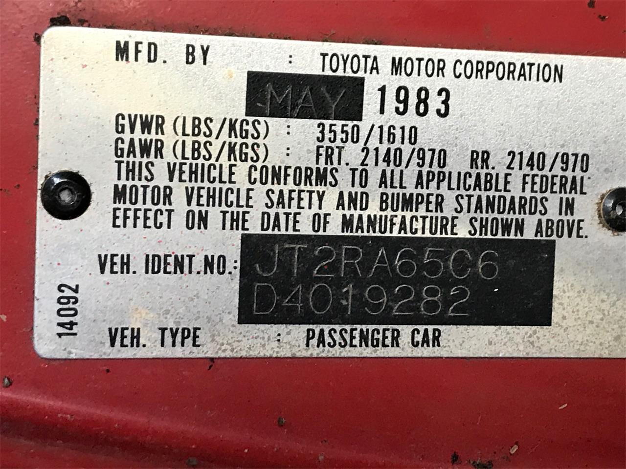 1983 Toyota Celica (CC-1302218) for sale in Cleveland, Ohio