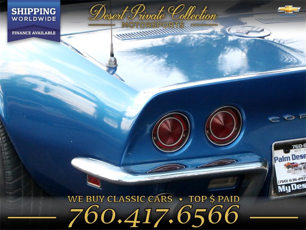 1968 Chevrolet Corvette Stingray (CC-1302363) for sale in Palm Desert , California