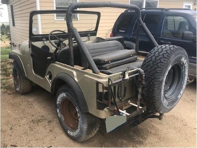 1967 Jeep CJ5 (CC-1302432) for sale in Aurora, Colorado