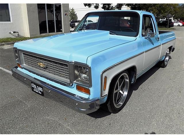 1973 Chevy Truck >> 1973 Chevrolet C10 For Sale On Classiccars Com