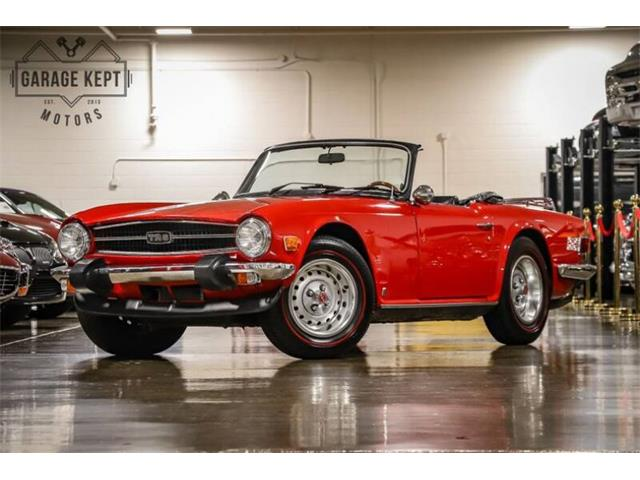 1975 Triumph TR6 (CC-1302616) for sale in Grand Rapids, Michigan