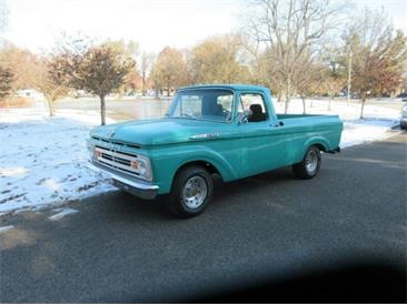 1962 Ford F100 (CC-1302695) for sale in Cadillac, Michigan