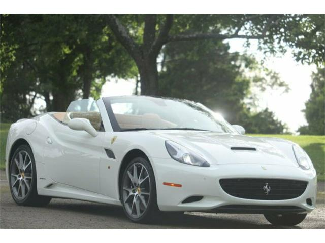 2012 Ferrari California (CC-1302737) for sale in Cadillac, Michigan