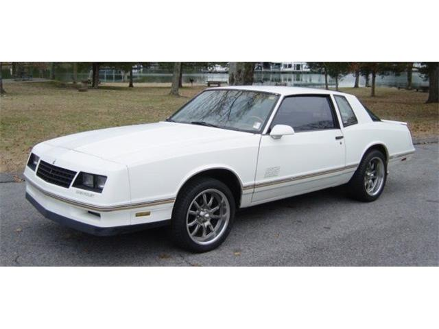 1987 Chevrolet Monte Carlo SS Aerocoupe (CC-1303084) for sale in Hendersonville, Tennessee
